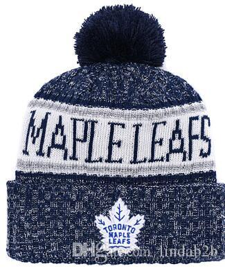 2019 2019 MAPLE LEAFS Beanie Winter Knitted Hats Adult Sport Knit Hat Cap  Beanies Basketball Baseball Football Winter Beanies 1000+ 01 From Lindab2b 857b6efd2fc