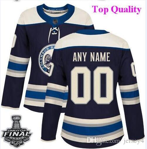 the best attitude f4bef fa68b Custom Columbus Blue Jackets nhl hockey jerseys Sergei Bobrovsky 2019  Stanley Cup Final Patch Jersey 4xl 5xl 6xl wholesale cheap women kids