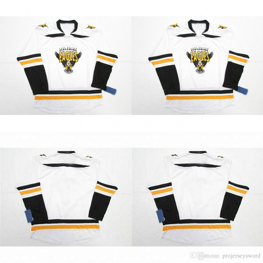 36b6822d 2019 Customize Cape Breton Screaming Eagles Jersey Mens Womens Youth ...