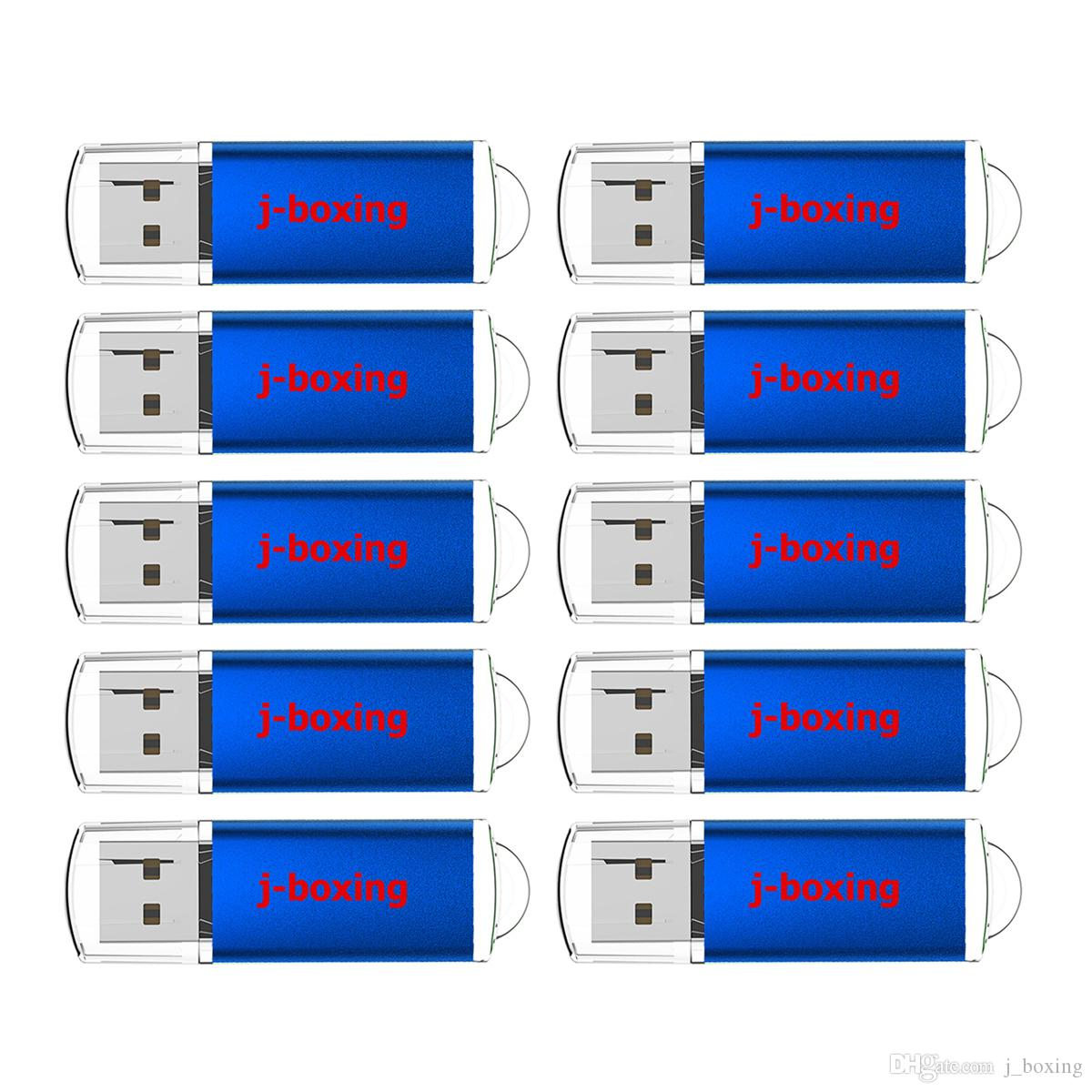 Bulk 10PCS USB 2.0 Flash Drives 2GB Memory Stick Rectangle High Speed Thumb Pen Drive Storage Promotion Gifts Colorful for Computer Laptop