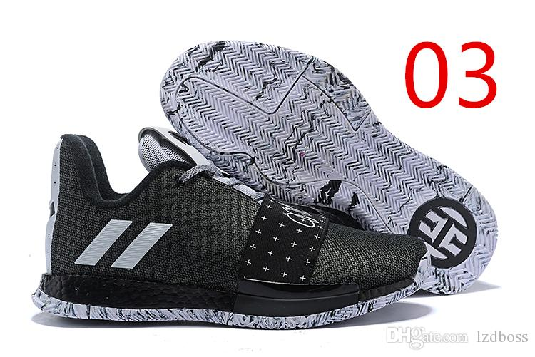 5808ba1bcd95 2019 HOT SALE Harden Vol. 3 MVP Basketball Shoes Men Red Grey Black James  Harden 3s III Outdoor Trainers Sports Running Shoes LZDBOSS Canada 2019  From ...