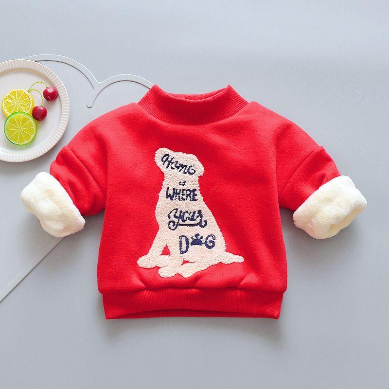 0995172a6ec9 Good Quality Winter Girls Boys Sweater Children Warm Thicken Coat ...