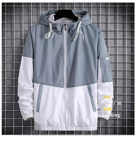 Designer Wholesale Mens Women Designer Windbreaker Spring Autumn Zipper Hoodies Fashion Sports Jackets Gym Running Coats M-4XL QSL198277