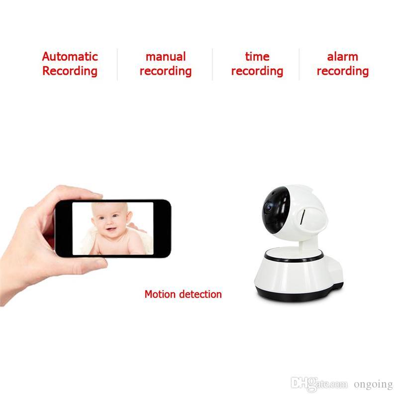 High quality V380 HD 720P IP Camera WiFi Wireless Smart Security Camera Micro SD Network Rotatable Defender Home Telecam HD CCTV IOS PC