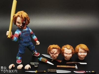 A child back to soul hand do Chucky Chucky NECA horror films doll toy doll moving model