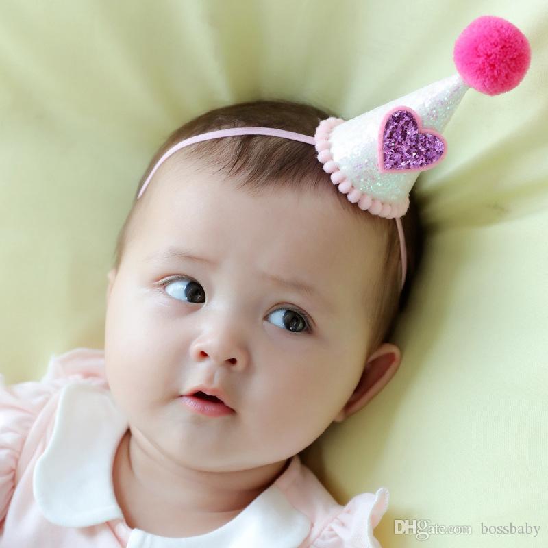 83e28992123d Children Hair Band Baby Girl Stereoscopic Cotton Filling Small Hat Headbands  Star Crown High Elasticity Headwear Flower 28 Hair Accessories For Infants  Hair ...
