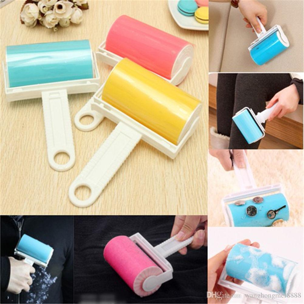 Dust Balling-up Fluff Remover Brush Reusable Keep Clothes Bed Clean Washable Roller Cleaner Lint Sticky Picker Pet Hair