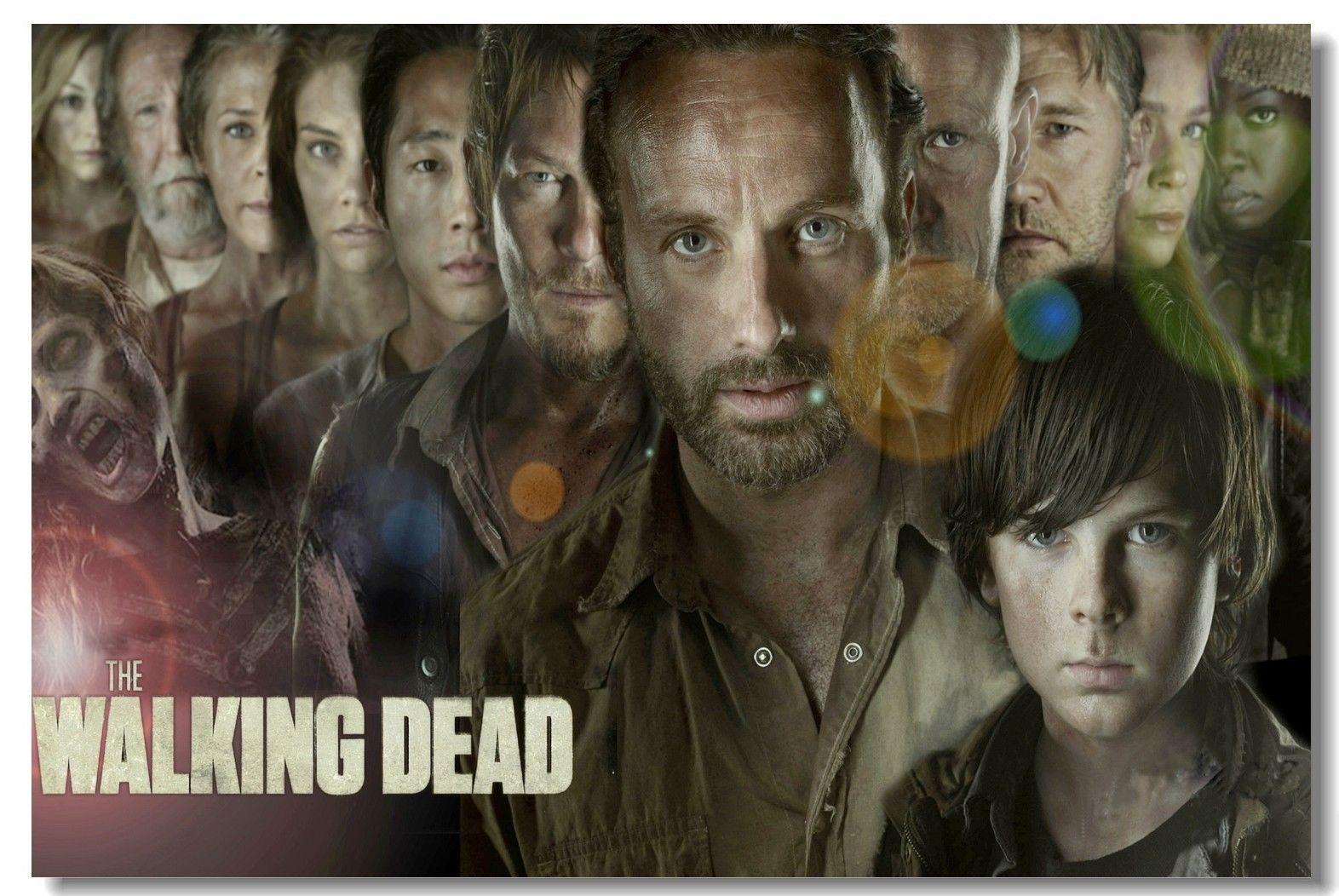 Großhandel The Walking Dead Staffel 4 5 TWD Rick Daryl Poster Aus ...