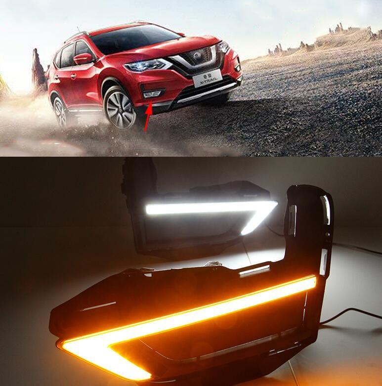 Acheter e DRL Pour Nissan X Trail Xtrail X Trail 2017 2018 Feux De ...