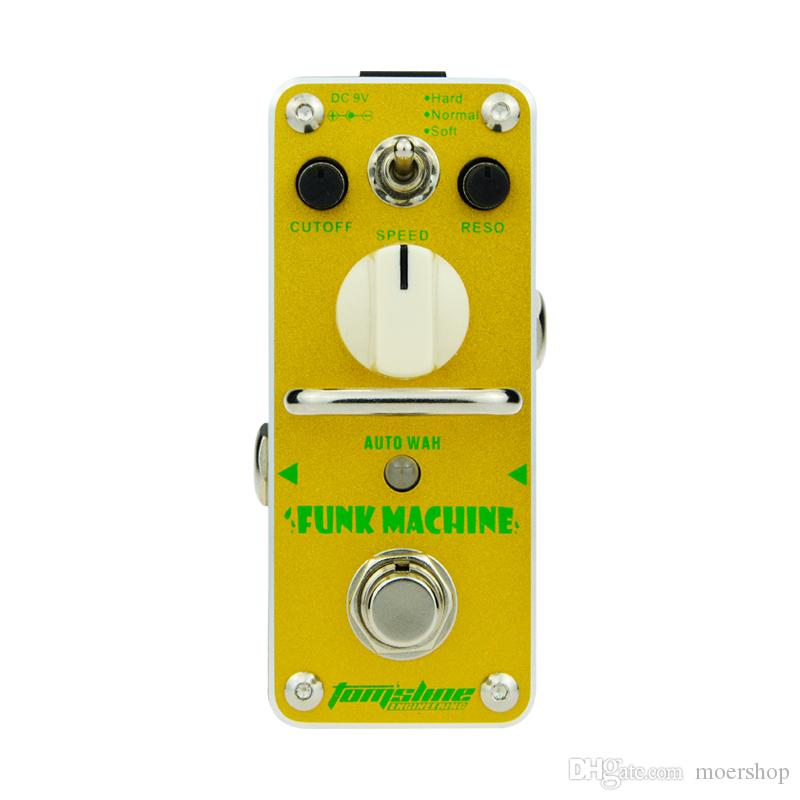 AROMA AKF-3 Pédale d'effet guitare Funk Machine Auto Wah Pédale d'effet guitare électrique Mini simple effet True Bypass