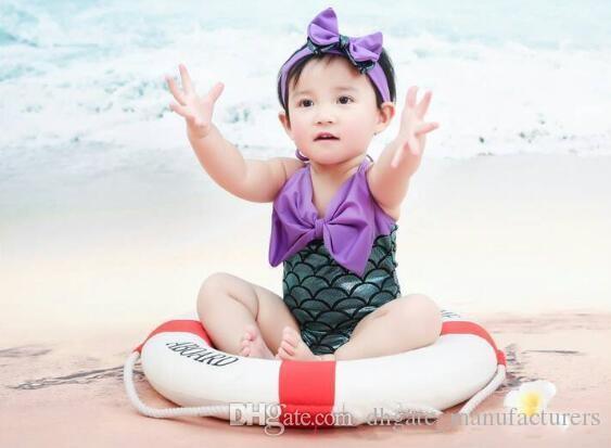 Costume Da Bagno Sirena : Costume da bagno a sirena per bambini costume da bagno da