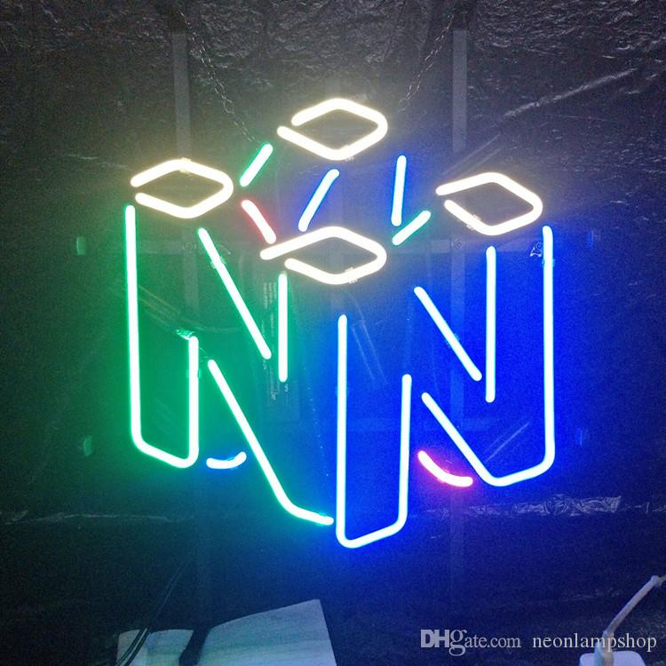 Factory Made Custom Led Glass Neon Signs Lamp Lights Beer Shop Room Wall  Windows Hotel Restaurant Decoration Metal Frame 17 20 24 30