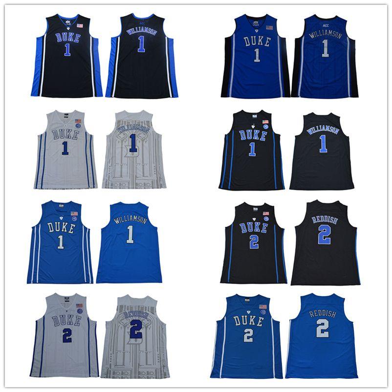 Mens Zion Williamson Jersey Duke Blue Devil Cam Reddish College ... 682813583b28