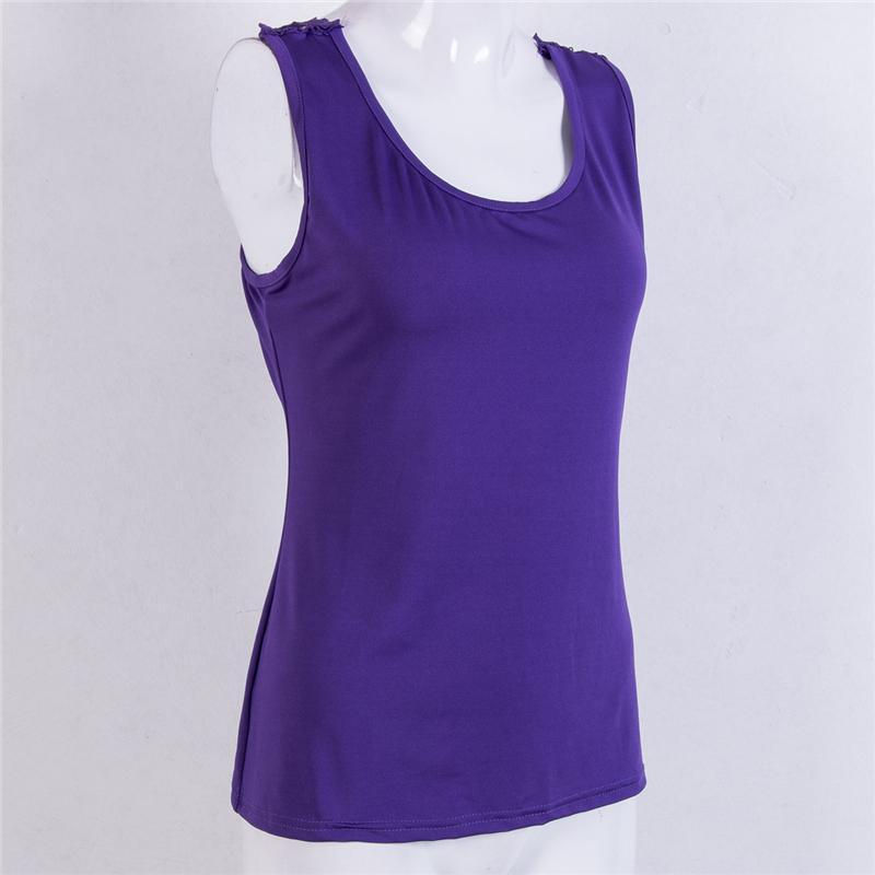 das mulheres Sexy Backless Vest Top sem mangas Casual Tanque Blusa Verão Tops topos Sexy Lace Algodão Tanque