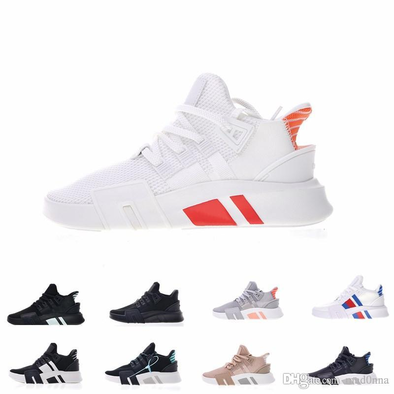 reputable site 32fad e5c29 2019 EQT Shoes for Women Mens Top quality All Black White Grey eqt Knit  Casual jogging Sneakers .