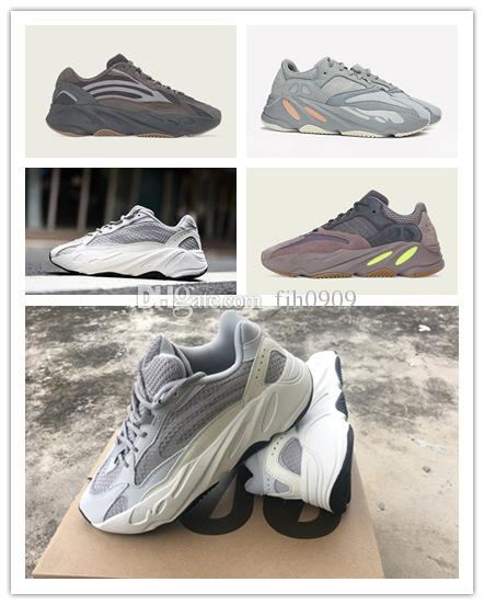 66bdb22987ec1 BoxINERTIA 700 Kanye West Wave Runner Static 3M Reflective Mauve Solid Grey  Sports Casual Shoes Men Women Sports Sneaker Shoes Size 36 46 Geox Shoes  Cheap ...