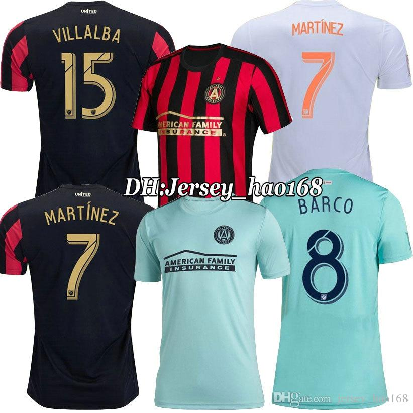 389733ea1 2019 2019 2020 MLS Parley Atlanta United FC Blue Soccer Jersey 19 20 ...