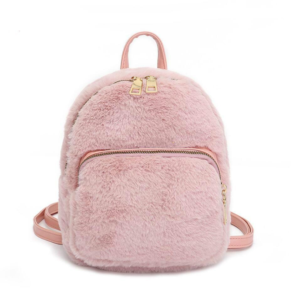 2019 Cute Backpack For Teen Kids Mini Back Pack High Quality Soft Plush Women S  Backpack Sweet Girl School Bag Shoulder Bag Cheap Backpacks Rolling Backpack  ... 9cb0260589