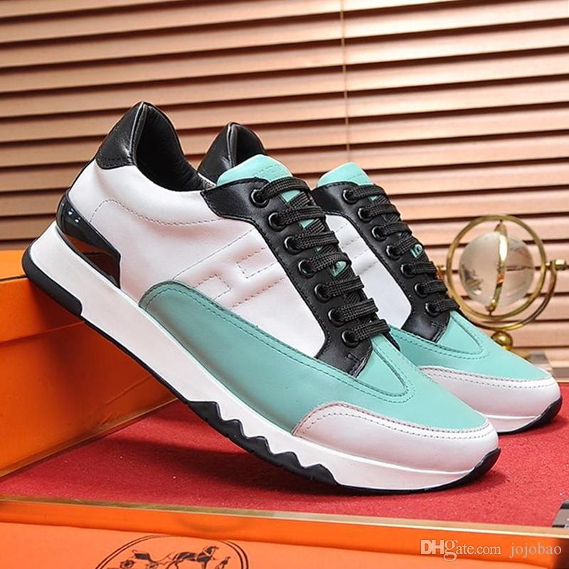 Chegada Nova Sapatos Masculinos Lightweight Top Quality Footwears Plus Size Lace up Sports Shoes Outono e inverno moda de luxo Trail sapatilha