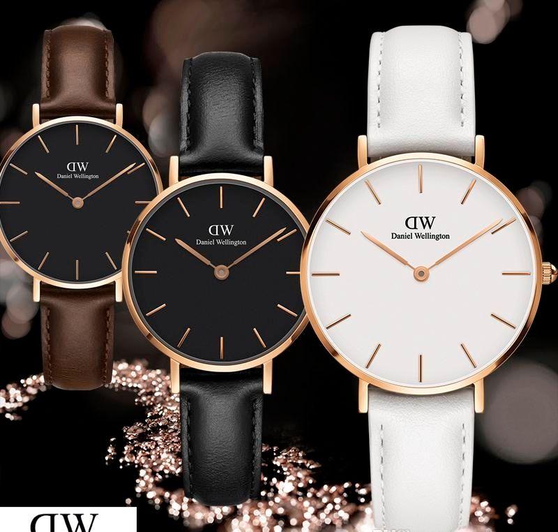 9f284045d Compre 2019 Moda De Lujo Nueva Dw Reloj Para Damas Relogio Montre Femme  Muñeca Reloj Mujer Correa De Cuero 32mm Tendencia Hot Daniel Wellington  Reloj De ...