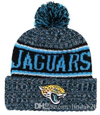 2019 2019 Jaguars Beanie JAX Sideline Cold Weather Graphite Official Revers  Sport Knit Hat All Team Winter Knitted Wool Skull Cap 1000+ From Lindab2b a8f8d6390d6
