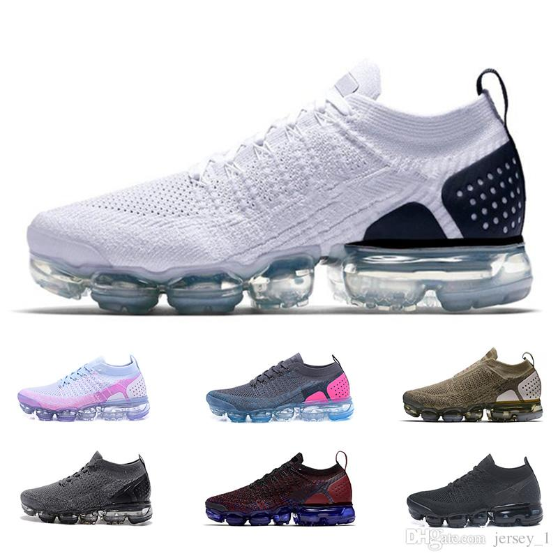 f49f134045e 2019 2019 New 2.0 Mens Women Running Shoes Fashion Luxury Triple White Black  Red Pink Designer Sports Sneakers Size 36 45 From Jersey 1