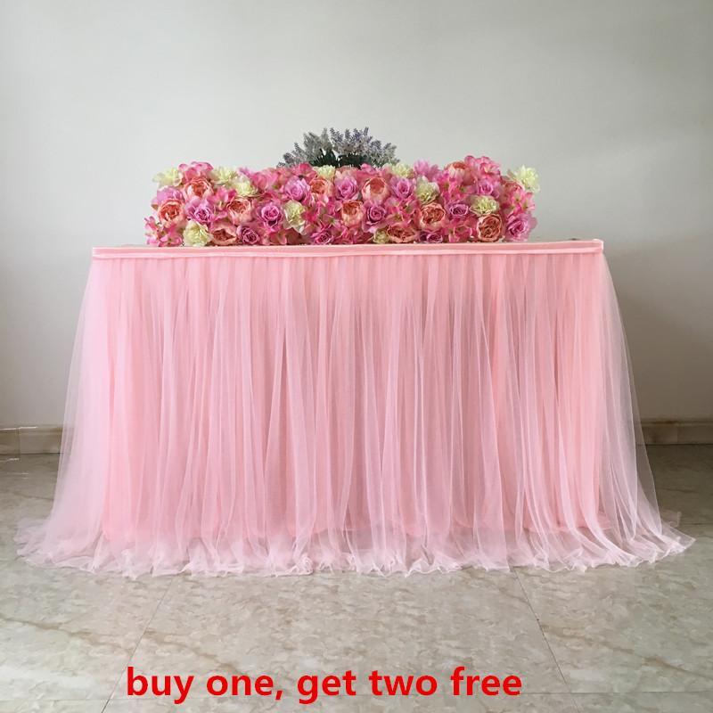 59eeff13a Boda cumpleaños baby shower mesa paño tela neta decoración tutu tul mesa  falda por encargo