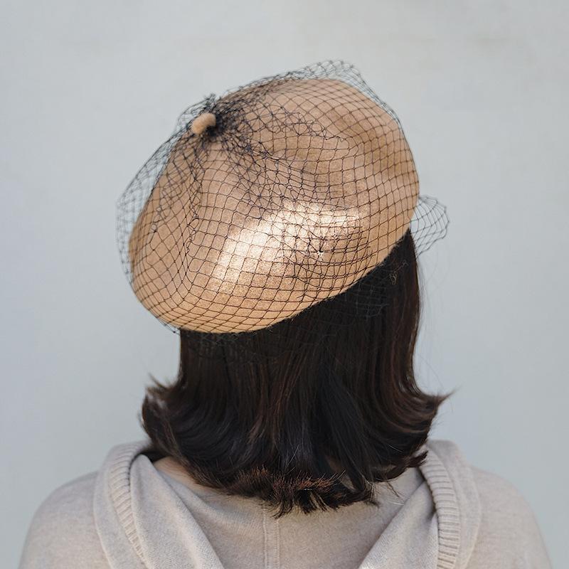 d1e619d300be0 WinterBerets Hat Painter Style Hat Women Wool Vintage Berets Solid ...