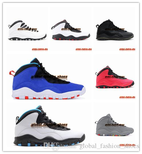 30885936f70c 2019 Mens Basketball Shoes 10 Tinker Cement 10s Mens Shoes Bobcats Grey  Chicage Cool Grey Iam Back Powder Blue Trainers Sports Sneaker From ...