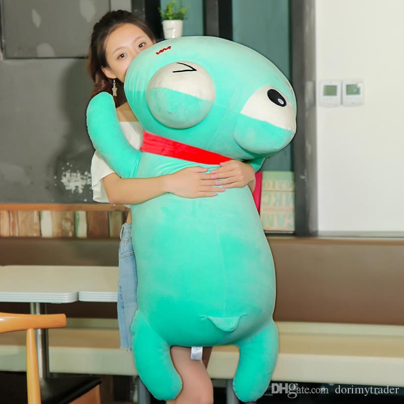 2019 Dorimytrader Giant Frog Plush Doll Big Cartoon Frog Pillow Toy