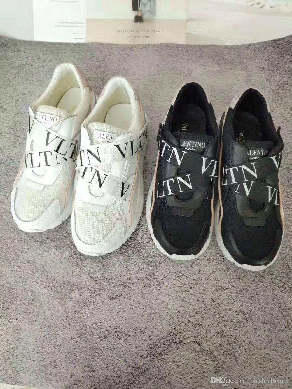 d54ee3da90a47 New VAL Casual Shoes Men Women Real Leather Studs Flat Heels Sandal 36 41  Slippers Slide Sandals Unisex Outdoor Beach Flip Flops Sandals For Women  Knee High ...