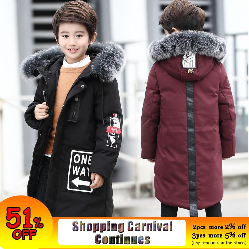 Boys Winter Jacket Parka Kids Camo Coats Jacket For Boys Teenage Boys Down Coats Children Kids Down Jacket Hooded Kids Clothes To Be Distributed All Over The World Outerwear & Coats Down & Parkas