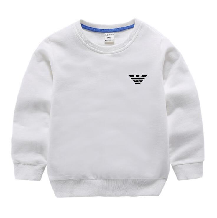 e6b70089634d New Boys And Girls Letter Hoodie 100% Cotton Long Sleeve Shirt ...