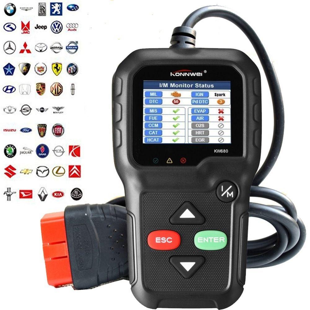 Professional OBD2 Scanner Car Diagnostic Scanner code Reader Gas Diesel  Analyzer Automotive Scan TooL (2018 New Version)