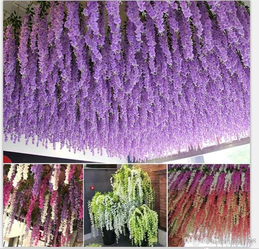 Matrimonio In Glicine : Acquista centimetri glicine fiori artificiali ghirlande i