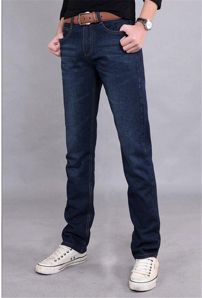 d0b336f2f23e3 2019 Summer 28 40Style Jeans Men Skinny Jeans Men Denim Pants Black Color  Hot Full Length Hot Sale Lzc 674 From Kaway