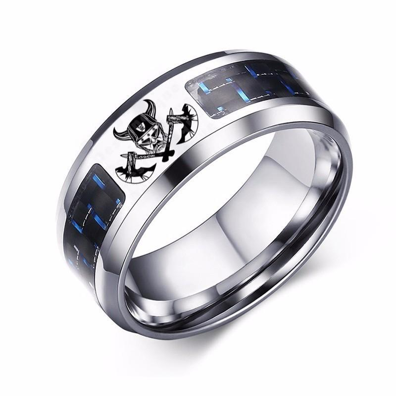Crossed Wedding Bands.Viking Crossed Axes Ring Personalized Warrior Svg Graphics Illustration Vector Logo Carbon Fiber Stainless Steel Jewelry