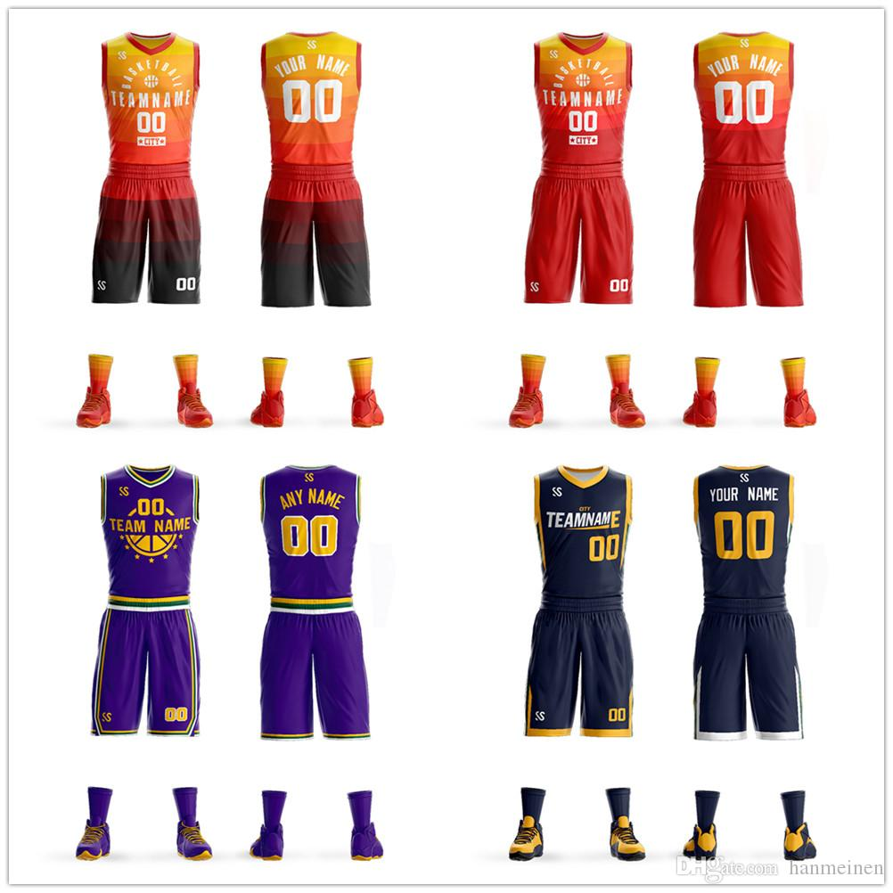 1a4519ff1ba 2019 Customized Team Mens Basketball Jerseys Donovan Mitchell Derrick  Favors Breathable Jersey Delivery Man Uniform Logo Design On Line From  Hanmeinen, ...