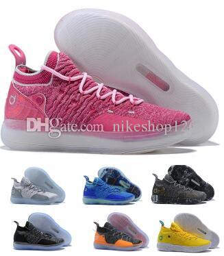 86b67da36fe7 Basketball Shoes Sneakers Kd 11 11s 2019 Mens Grey Multi Still Eybl BHM  Kevin Durant XI Oero Foam Man Sports Trainer Zapatos Shoes Women Basketball  Shoes ...
