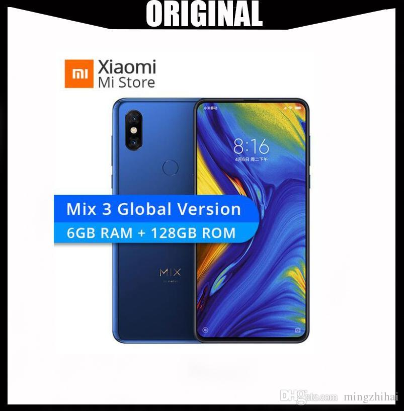 Globale Version Xiaomi Mi MIX 3 Snapdragon 845 6GB 128GB 6,39