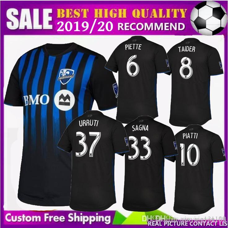 super popular d8805 09b19 Free shipping 2019 2020 new Montreal Impact Home soccer jersey thailand  quality 19 20 DROGBA EDWARDS PIATTI football jerseys shirt