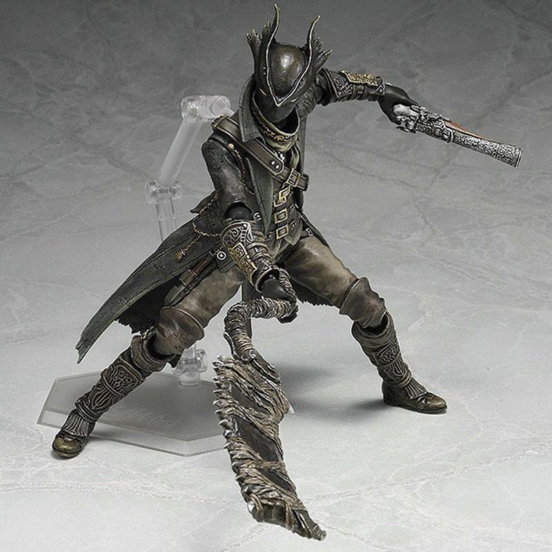 Bloodbourne 2019 Christmas Gift Ideas 2019 15cm Game Bloodborne Hunter Figma 367 Pvc Action Figures Toys
