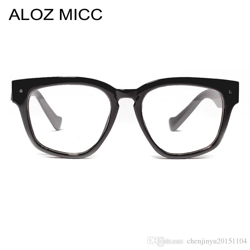 758f6f37b3b ALOZ MICC Women Square Glasses Frame 2019 Brand Designer Optical ...