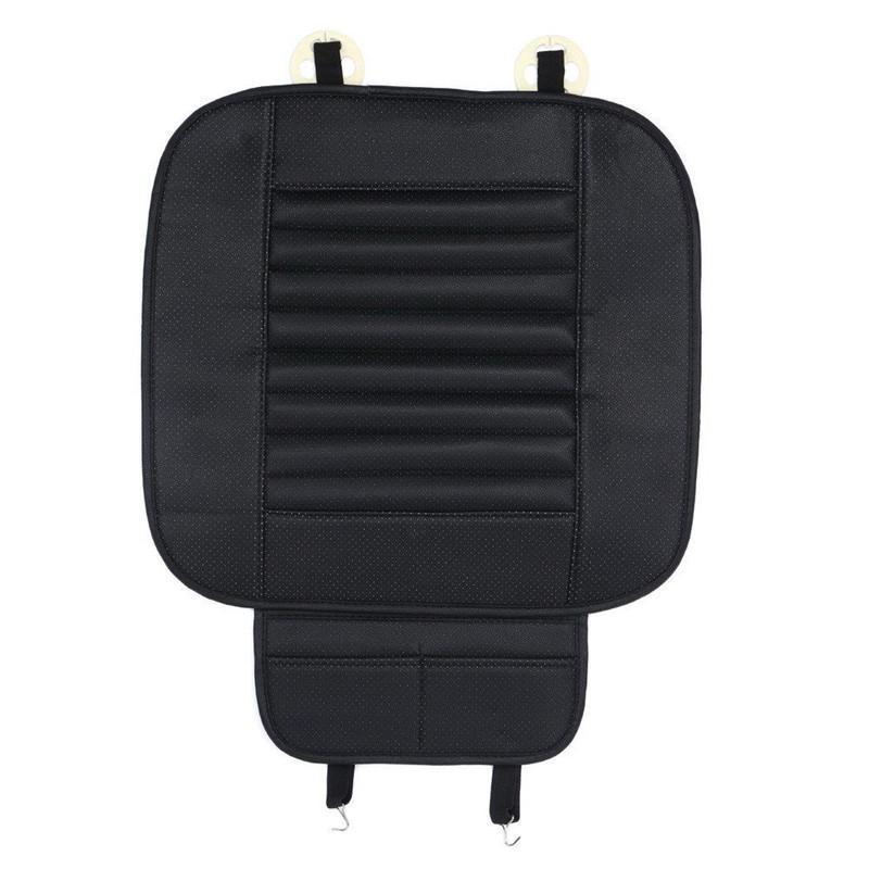Creative-Universal-PU-Leder-Auto-Frontsitzkissen-Schutz-Auflage Fahrer Mat Kissen