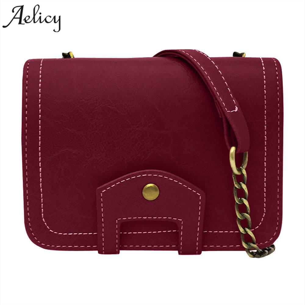 Designer Aelicy PU Leather Women Envelope Messenger Bags Slim Crossbody  Shoulder Bags Vintage Small Cross Body Bags Satchel Ladies Purses Leather  Bags For ... c9b26bfc61584