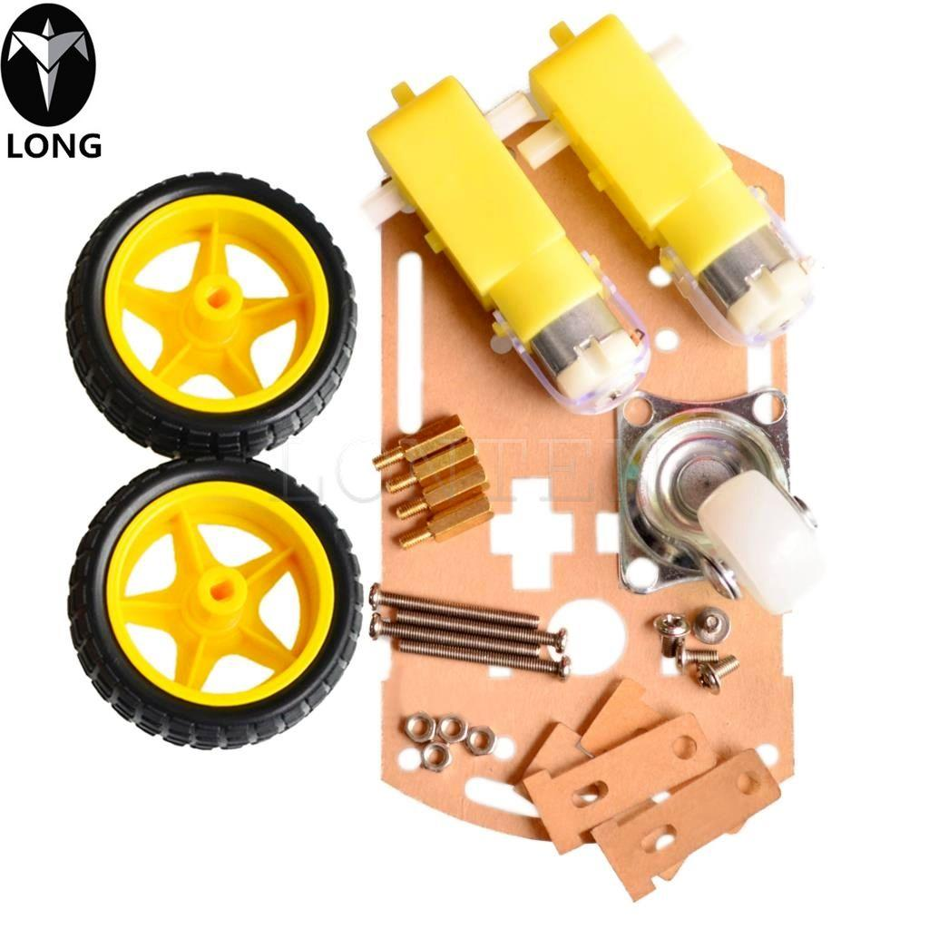 Longteng mart car chassis Tracing car The robot car chassis With code disc  tachometer for Arduino