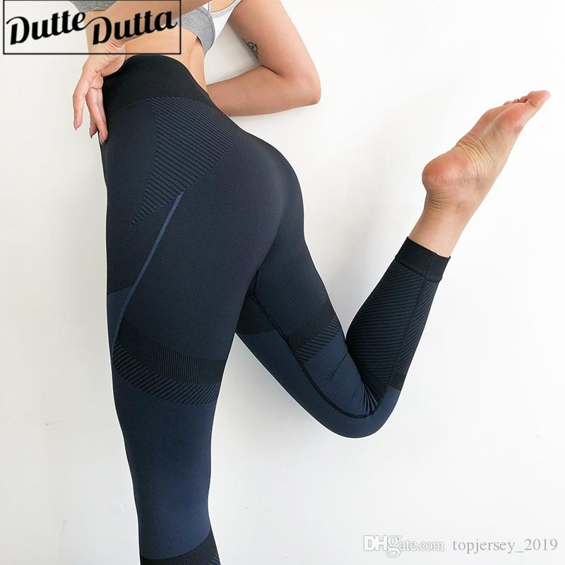 2a847dc933 2019 High Waisted Seamless Leggings Women Tummy Control Yoga Pants  Compression Sport Leggings Push Up Gym Workout Fitness Yoga Leggin #190989  From ...