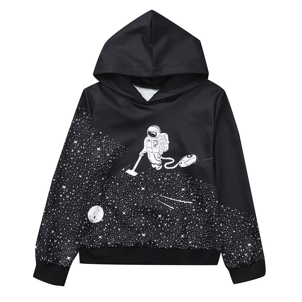 b49aa6d92253 Children Kids Baby Long Sleeved 3D Digital Print Hooded Sweatshirt ...