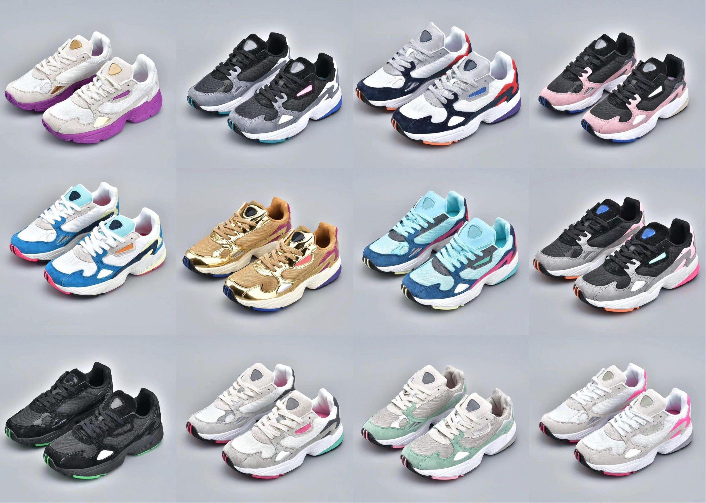 zapatos adidas falcon w mujer
