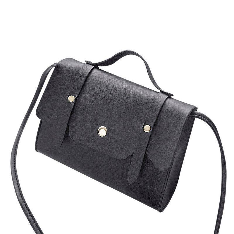 6375942364fd Cheap Small Women Bags PU Leather Cover Messenger Bag Clutch Bags Designer  Mini Shoulder Bag Women Handbag Hot Sale Bolso Mujer PurseC Mens Messenger  Bags ...